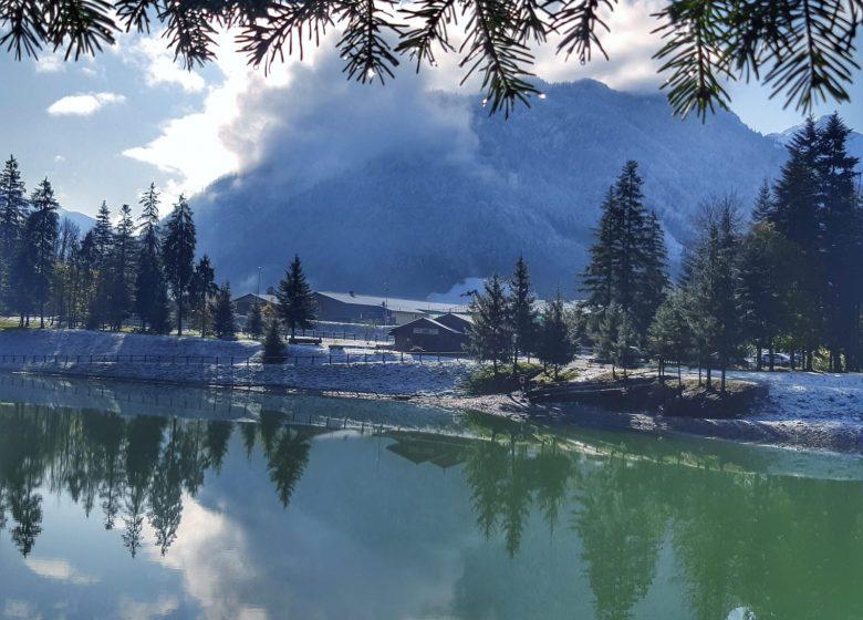 Lac de Thuy en hiver