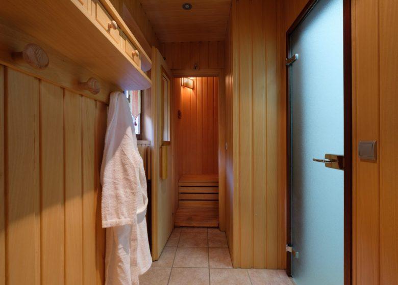 Sauna – Chalets de Juliette – Alex