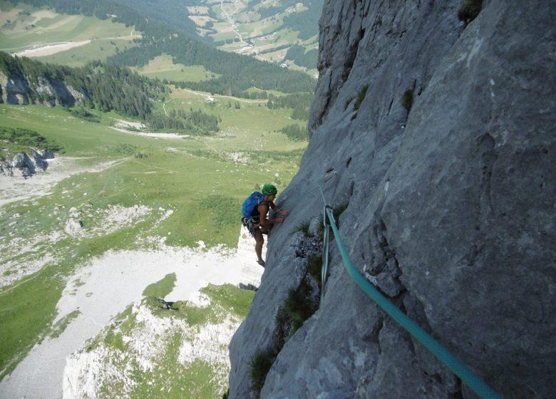 Escalade en Haute-Savoie