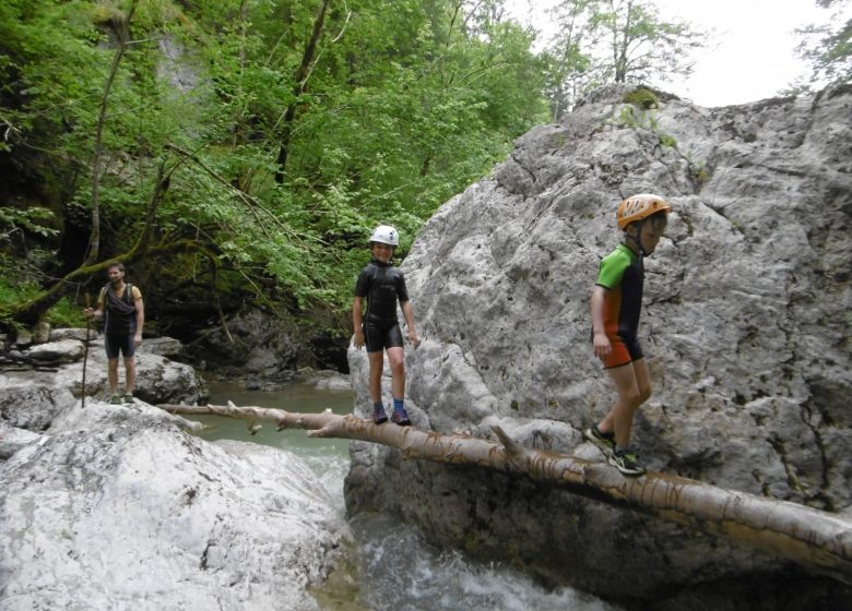 Ruisseling en Haute-Savoie