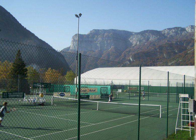 Terrain de tennis – Thônes – Activités