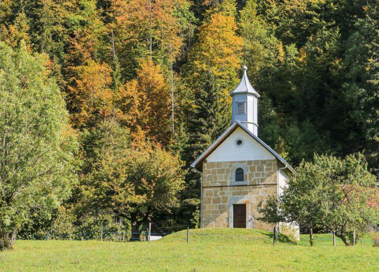 Chapelle Col de Plan Bois